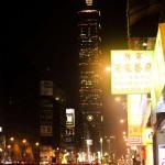 Taipei 101 de nuit